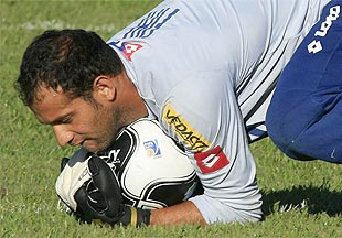 Goleiro Marcelo do Bahia