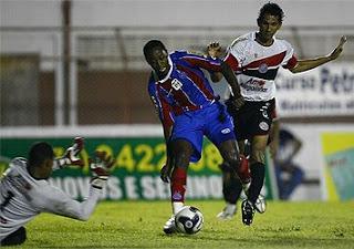 Bahia 2 x 2 Atlético de alagoinhas