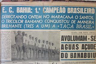 Bahia, bicampeão brasileiro!!
