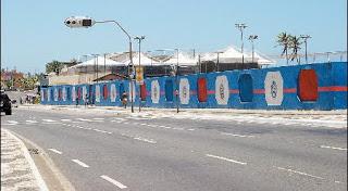 sede de praia do Bahia, na Boca do Rio