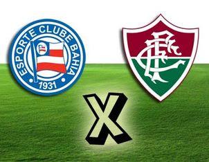 Bahia x Fluminense  Hoje d98883114a5ed
