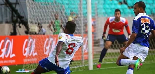 06758ebb6c Bahia 1 x 2 Cruzeiro  A primeira decepção na Série A.