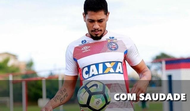 """Ederson Moraes Ansioso Para Voltar A: Hernane Ansioso Para Voltar No Bahia """"Dá Saudade, Né?"""""""