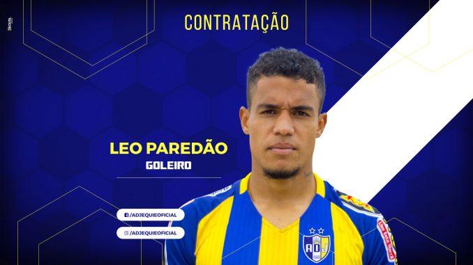 a9761cc923 Goleiro Léo Paredão é a oitava contratação do Jequié