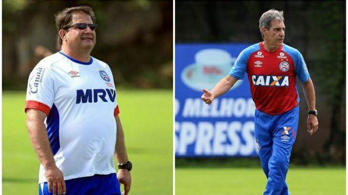 98bd075361 Guto Ferreira ou Paulo César Carpegiani  Essa é a questão no Bahia
