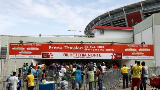 Mais de 20 mil ingressos vendidos para o BA-VI da Arena Fonte Nova 439bcd1a46ea5