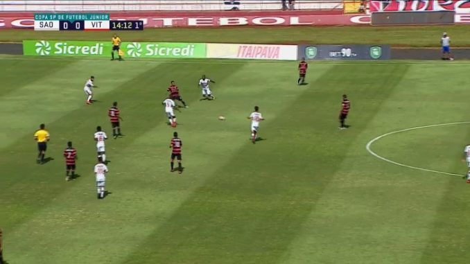 c01fd2a080dd4 Copa São Paulo  Veja os gols de São Paulo 1 x 2 Vitória – Resultado Parcial
