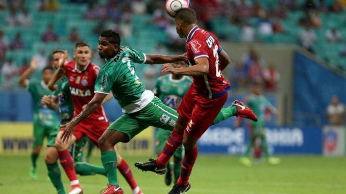 2c3c4b6f776d4 Veja o festival de gols do jogo Bahia 6 x 1 Vitória da Conquista