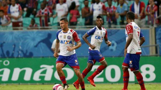 Lei do Ex!  Meia do Bahia super motivado para enfrentar o Atlético-PR fa3c83f927285