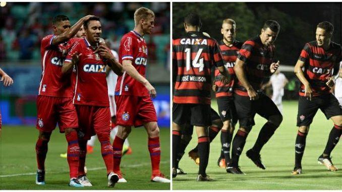 Bahia e Vitória lutam pela vantagem nas semifinais do Campeonato Baiano f0aa5c3cf665f