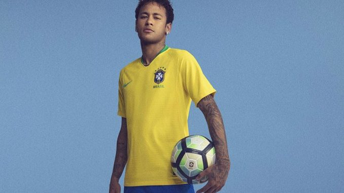 CBF revela as novas camisas da seleção brasileira para Copa do Mundo a47a8621b840b