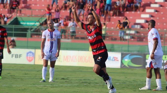 9140873cec Veja os melhores momentos do jogo Bahia de Feira 1 x 1 Vitória