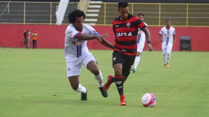 37785d5ac9389 Veja os melhores momentos do jogo Vitória 3 x 2 Bahia de Feira