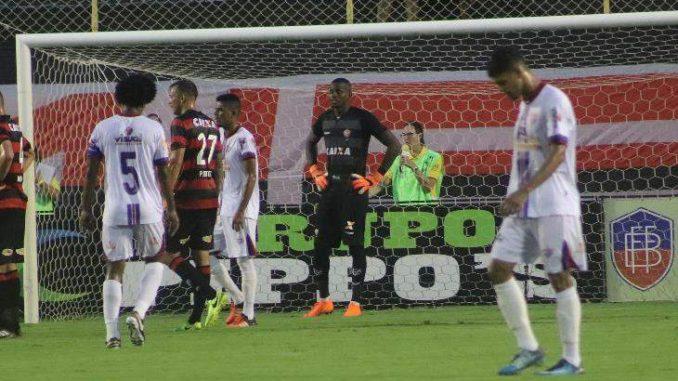 edd5c3b332040 Veja os gols do jogo Vitória 3 x 2 Bahia de Feira pela semifinal do Baianão