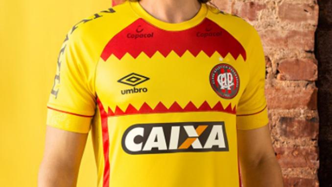 5d15cd8157200 Atlético-PR não vai usar e vender camisa da Umbro em alusão à Espanha