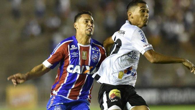 Bahia vence o Botafogo na Paraíba e coloca um pé na semi do Nordestão 3e9c428151b49
