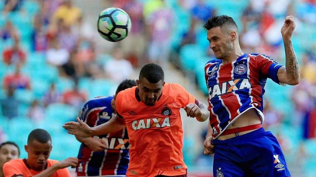 Bahia x Atletico-PR Fonte Nova