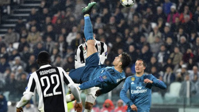 Veja o golaço de bicicleta de Cristiano Ronaldo contra a Juventus! 8f5cc47c392b1