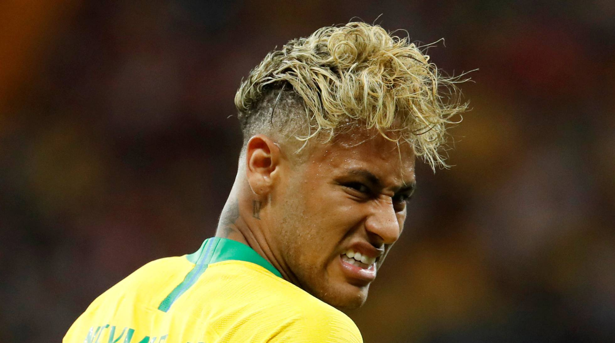 penteado de Neymar