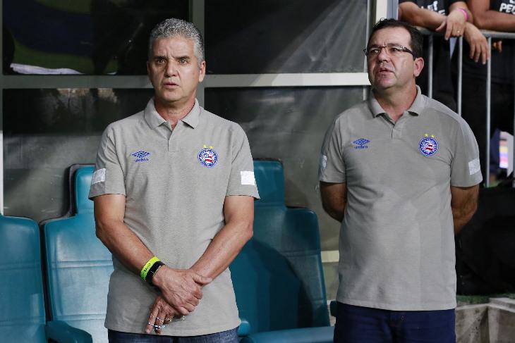 enderson moreira tecnico do Bahia