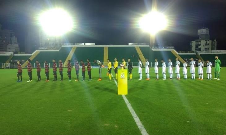 Figueirense 0 x 4 Vitória brasileiro de aspirante