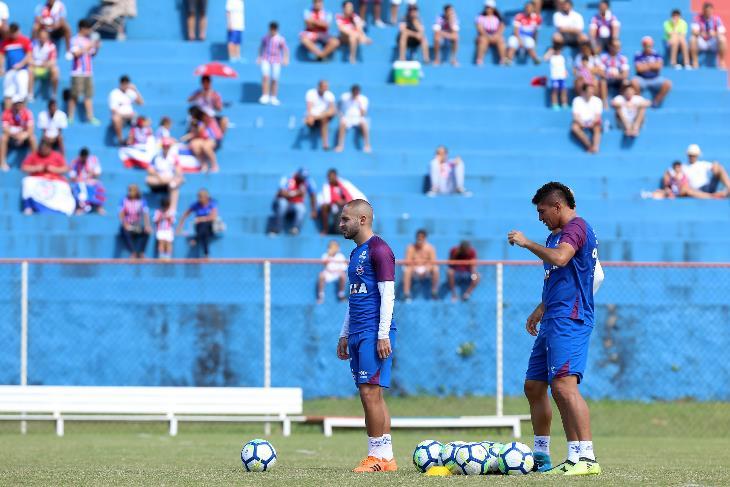treino do Bahia