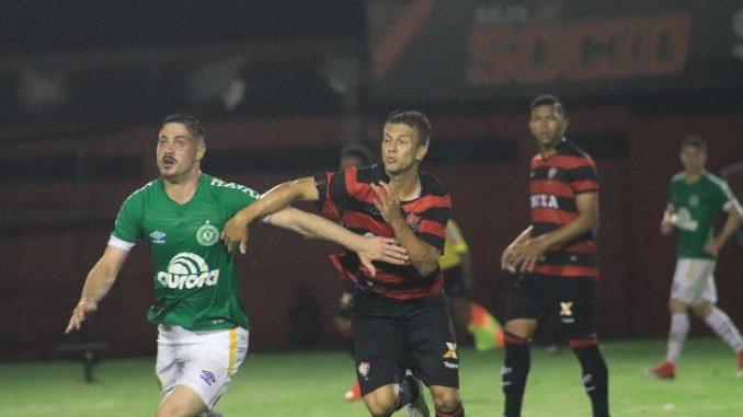 SUB 23  Vitória toma gol no início e empata nos acréscimos com a Chapecoense 16b7d3d88cff8