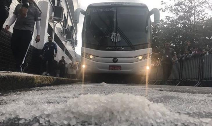 Santos sal grosso na Vila Belmiro