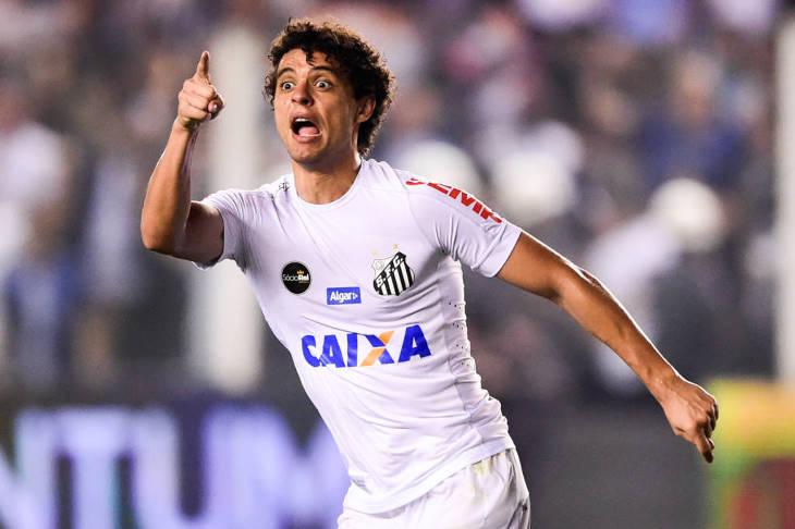 Victor Ferraz jogador do Santos FC
