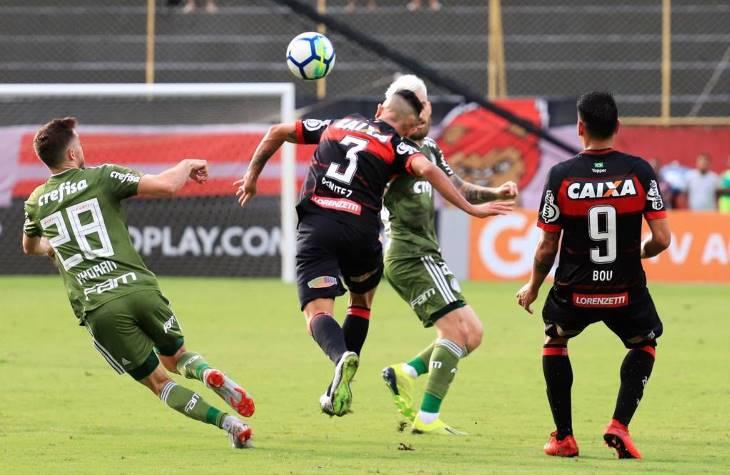 Vitória 0 x 3 Palmeiras – Deyverson