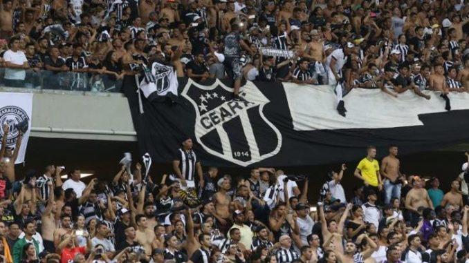 33ddbf3798018 Esperado 40 mil torcedores para jogo Ceará x Paraná na Arena Castelão
