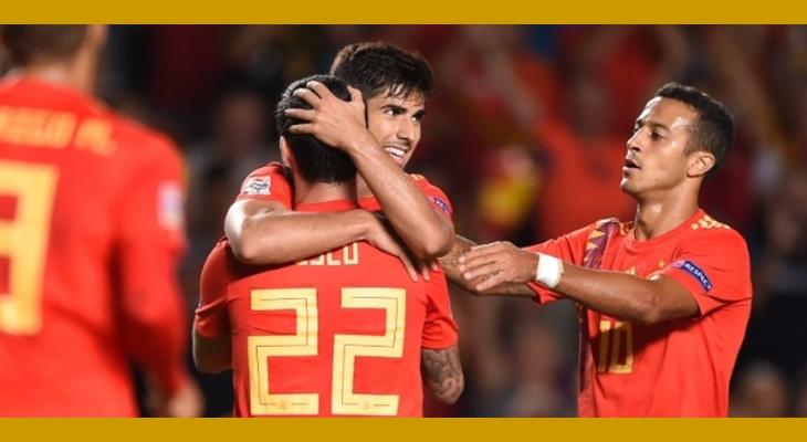 Espanha 6 x 0 Croacia
