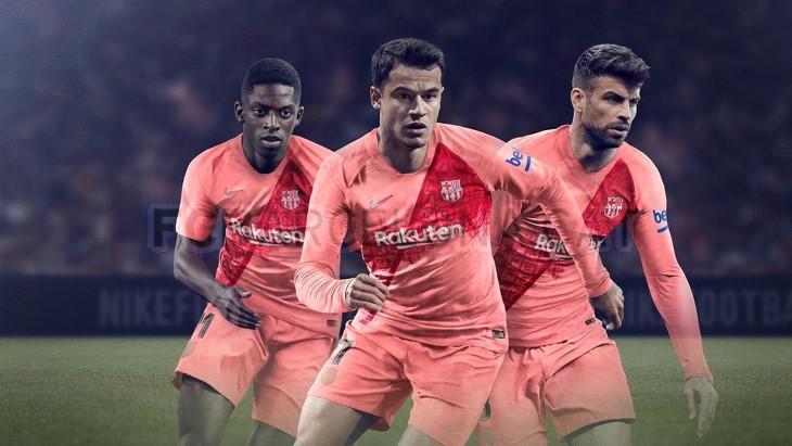 novas camisas do Barcelona