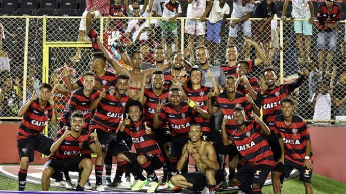4fe24c52ab Veja os gols do massacre  Vitória 6 x 1 Flamengo pelo Brasileiro Sub-20