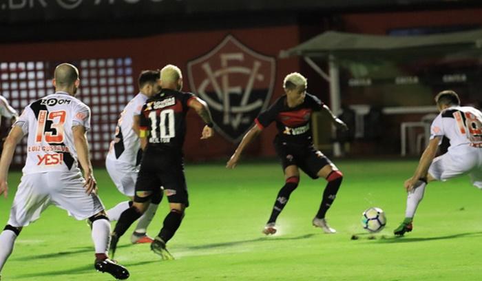 vitória 1 x 0 vasco