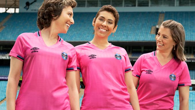 fb1a426999619 Grêmio apresentará camisa cor de Rosa contra o Bahia no sábado