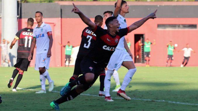 e0e9f6affc Confira os gols de Vitória 3 x 1 América-MG pelo Brasileiro de Aspirantes