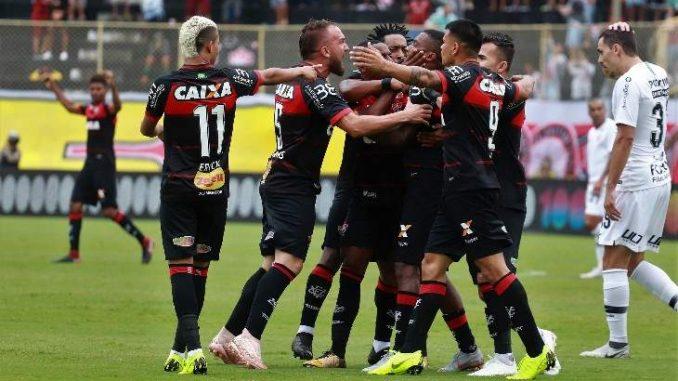 Vitória 1 x 1 Corinthians  Veja o gol de Rhayner e a pintura de Jadson 05473c848546c