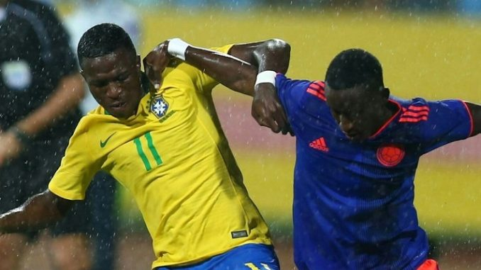 Brasil Sub 20: Brasil 2 X 2 Colômbia: Confira Os Gols Do Jogo Amistoso