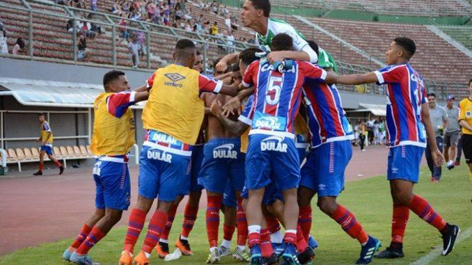Bahia 1 x 1 Vitória  Veja os gols do BA-VI pela Copa do Nordeste Sub-20 54971f574aae4