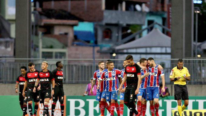 f1579baa005db Foto  Felipe Oliveira   EC Bahia. Vitória e Bahia se enfrentam nesse  domingo (11 11) no Barradão pela 33ª rodada do Campeonato Brasileiro.