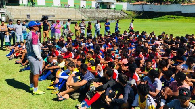 Avaliação do Bahia em Ubaíra contou com 418 atletas de 20 municípios 61b603054aa81