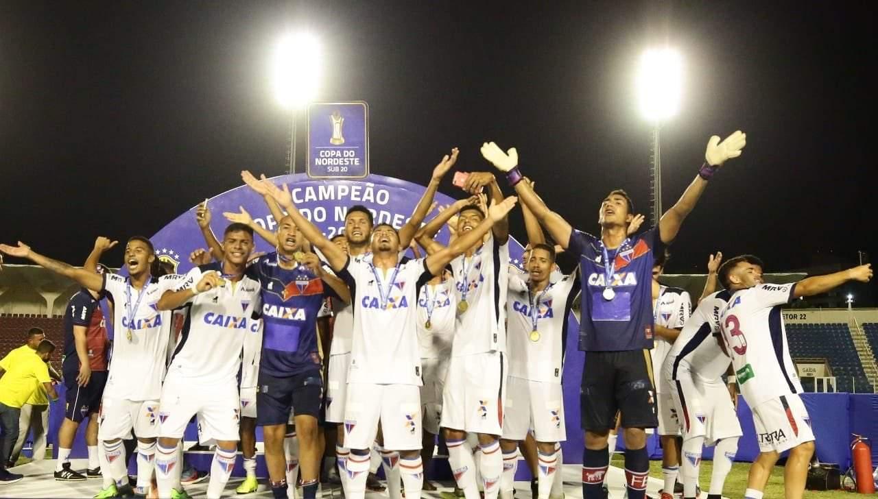 Fortaleza campeão da copa do nordeste sub20