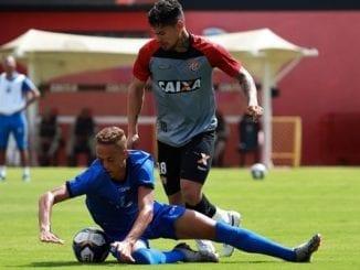 Time principal do Vitória empata jogo-treino contra o Olímpia no Barradão 6b0cd2971e1b3