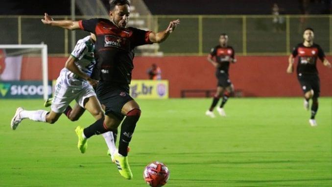 5bac1f57db27c Veja o gol de Vitória 1 x 0 Vitória da Conquista no estádio do Barradão