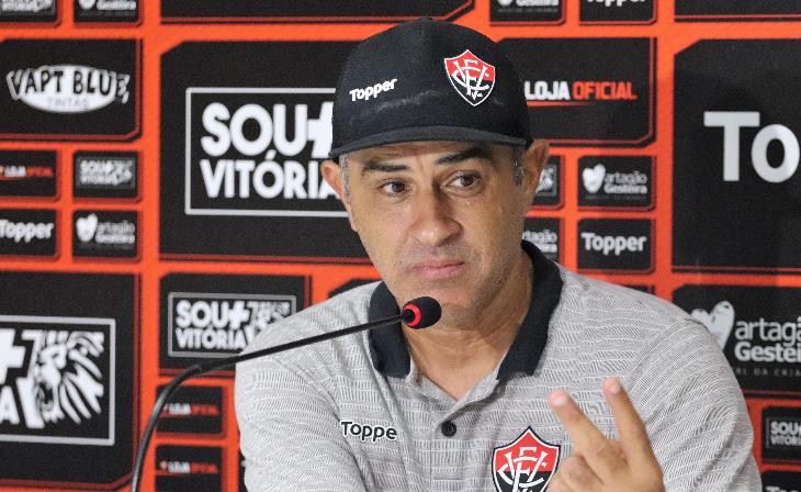 Marcelo Chamusca tecnico do Vitória