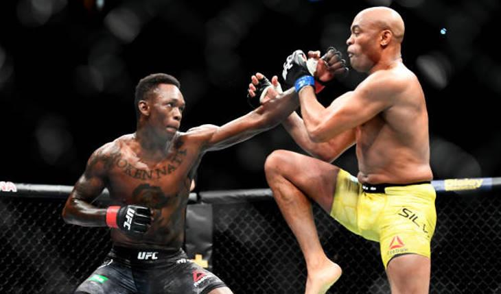 UFC 234: Israel Adesanya X Anderson Silva