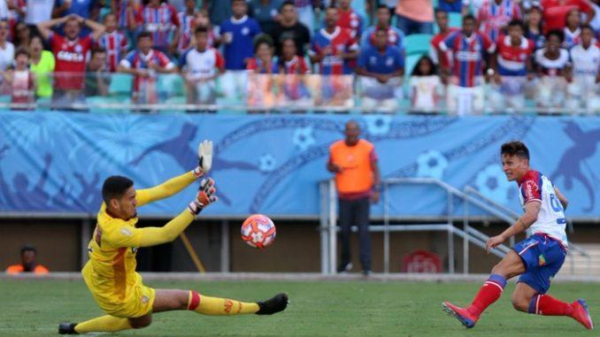 905e924f458a4 Bahia volta a empatar com o Vitória e deixa o G-4 do Campeonato Baiano