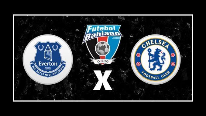 Everton x Chelsea campeonato inglês