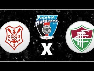 Sergipe x Fluminense de Feira